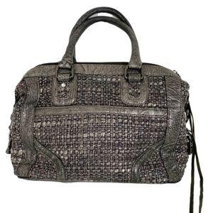 Rebecca Minkoff MAB Bombe Metallic Tweed Bag EUC